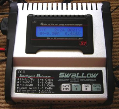 Photo of the Sparrow EQ charger